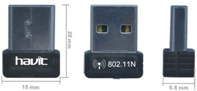 , Адаптер Wi-Fi HAVIT HV-WF15 USB