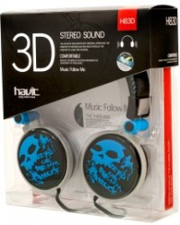 ,  Наушники Havit headphone HV-H83D blue